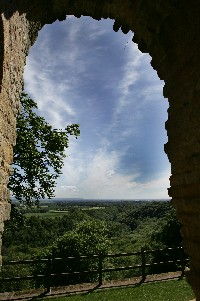 View from The Ruin.