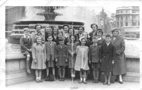 School outing to London 1951