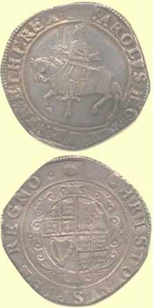 Charles 1st Half Crown
